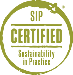 SIP Certified Seal - Sustainability in Practice
